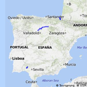 Ruta Costa Atlantica- Parte Española