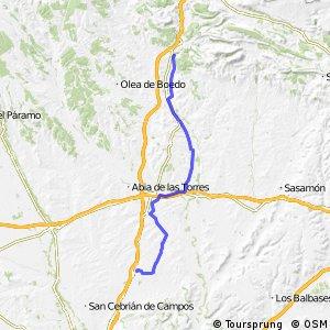 GR-89 BTT Canal de Castilla (Ramal Norte Etapa Alar - Fromista)