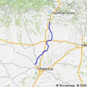 GR-89 BTT Canal de Castilla (Ramal Norte)