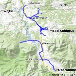 Radverkehrsnetz Kreis Garmisch-Partenkirchen