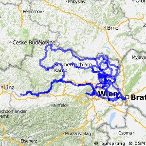 Radwege in Niederösterreich