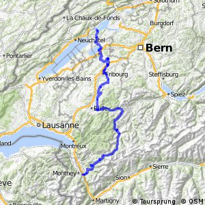 rcn 59 - Saanenland–Freiburgerland (Bex–Erlach)