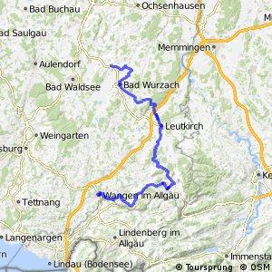Donau-Bodensee-Radweg Ostroute