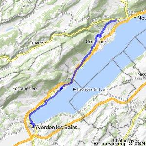 rcn 22 - Etappe 2 (Yverdon-le-Bains - Neuchâtel (Corcelles))