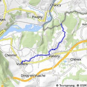 ViaRhôna : Valleiry - Vulbens