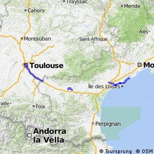 Voie verte Canal du Midi