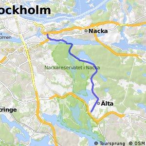 Regionalt cykelnät Stockholm (Ältastråket)