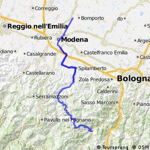 Ciclopista del Sole - Variante Modena