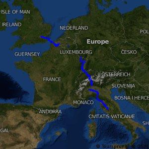 EuroVelo 5 - Via Romea Francigena