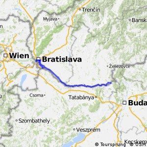 EuroVelo 6 - part Slovakia
