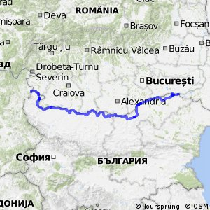 EuroVelo 6 - part Bulgaria
