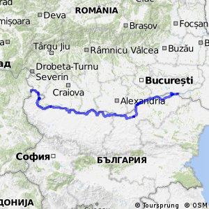 EuroVelo 6 - part Bulgaria