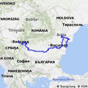 EuroVelo 6 - part Romania