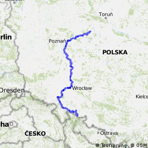 EuroVelo 9 - part Poland