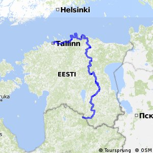 EuroVelo 11 - part Estonia