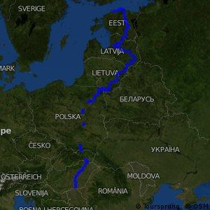 EuroVelo 11 - Kelet-európai útvonal
