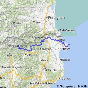 Ruta Transpirenaica en BTT (Cap de Creus - Campodron)