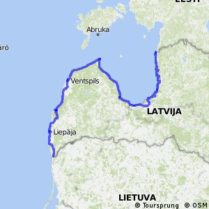 EuroVelo 13 - part Latvia