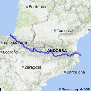 Ruta Transpirenaica en BTT