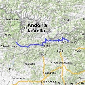 Ruta Transpirenaica en BTT (Campodron - Noves de Segre)