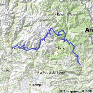 Ruta Transpirenaica en BTT (Noves de Segre - El Pont de Suert)