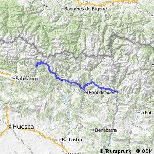 Ruta Transpirenaica en BTT (El Pont de Suert - Broto)