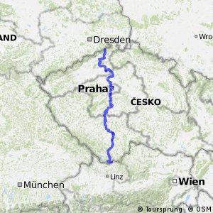 EuroVelo 7 - part Czech Republic