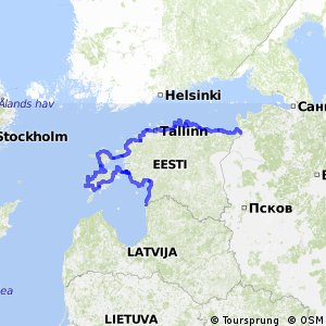 EuroVelo 13 - part Estonia