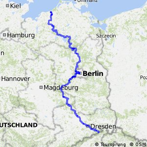 EuroVelo 7 - part Germany