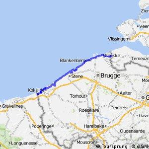 EuroVelo 4 - part Belgium