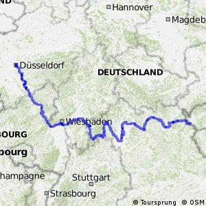 Radroute Mitteleuropa-Route - Teil Deutschland