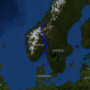 EuroVelo 3 - part Norway