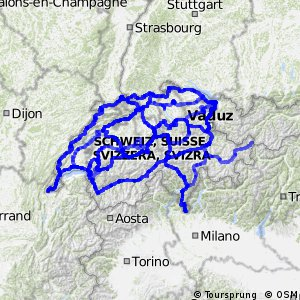 National cycling network of Switzerland