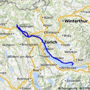 rcn 66 - Goldküste–Limmat (Rapperswil–Baden)