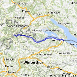ncn 2 - Etappe 6 (Kreuzlingen–Schaffhausen)