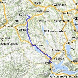 ncn 3 - Etappe 2 (Aarau–Luzern)