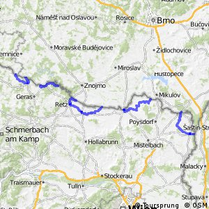 EuroVelo 13 - part Austria
