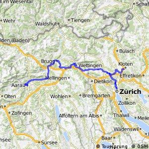 ncn 5 - Etappe 3 (Kloten–Aarau)