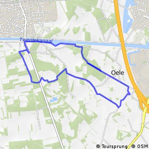"MTB Route Twickel ""Ronde Oele"""
