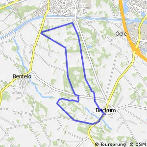 "MTB Route Twickel ""Beckum Noord"""