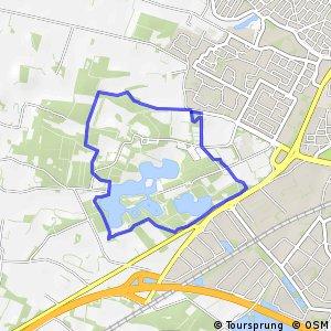 """MTB Route """"Het Hulsbeek"""""""