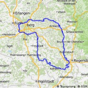 Fünf-Flüsse-Radweg (Hauptweg)