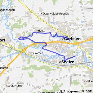 Grüner Ring Hannover - Umlandschleife Garbsen