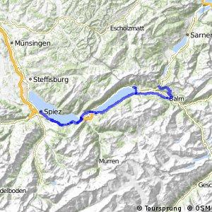 ncn 9 - Etappe 4 (Spiez–Meiringen)
