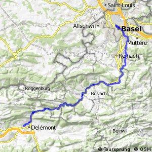 rcn 23 - Etappe 1 (Basel–Delémont)