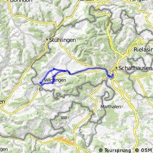 rcn 77 - Etappe 4 (Zurzach–Schaffhausen)