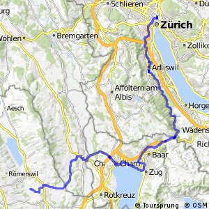rcn 94 - Etappe 5 (Hochdorf–Zürich)