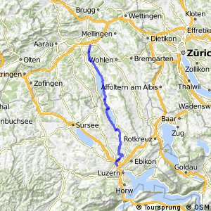 rcn 56 - Etappe 1 (Luzern–Lenzburg)