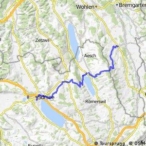 rcn 84 - Etappe 3 (Sursee–Muri AG)