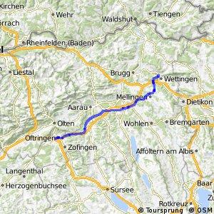 rcn 34 - Etappe 4 (Zofingen (Oftringen)–Baden)